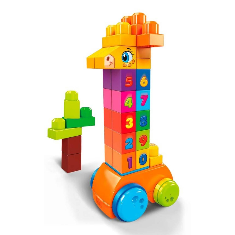 Fisher Price Mega Bloks First Builders giraffe 30 delig