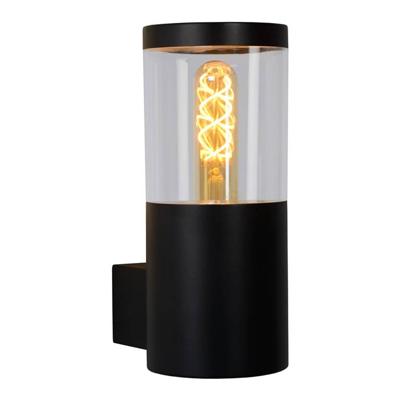 Lucide - Fedor - Wandlamp Buiten - E27 - Ip44 - Zwart