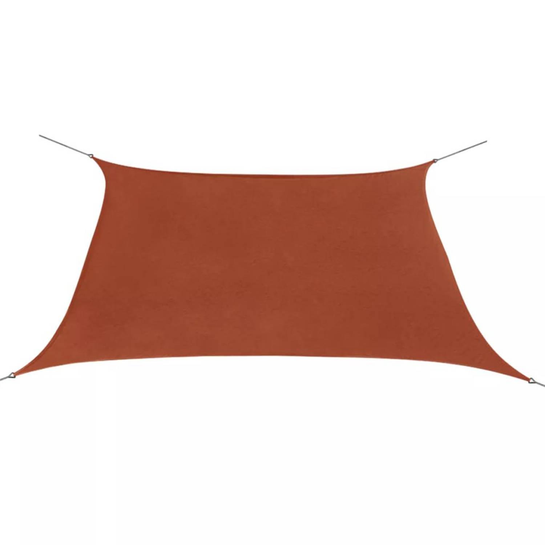 Vidaxl Zonnescherm Oxfordtextiel Vierkant 2x2 M Terracotta