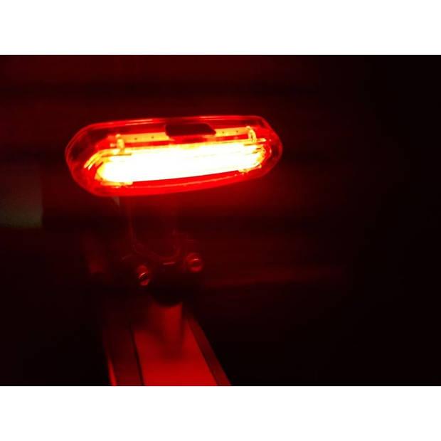 Pro Sport Lights achterlicht led oplaadbaar 5 cm rood