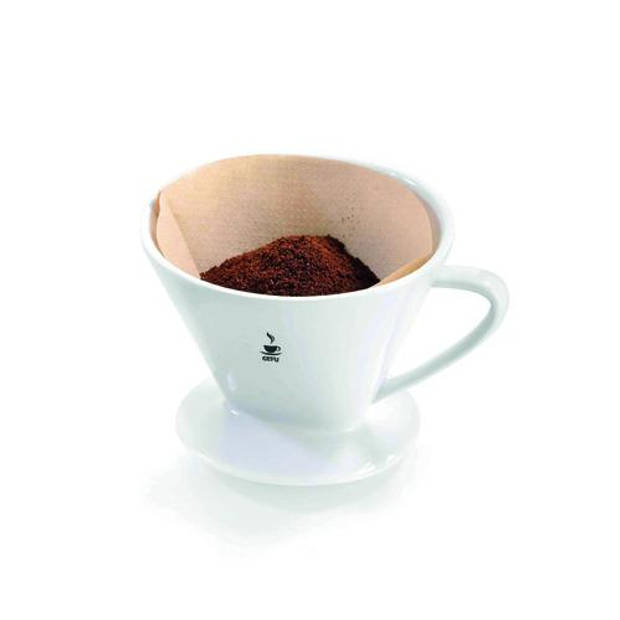 Porseleinen koffie filter maat 2 'Sandro' - Gefu