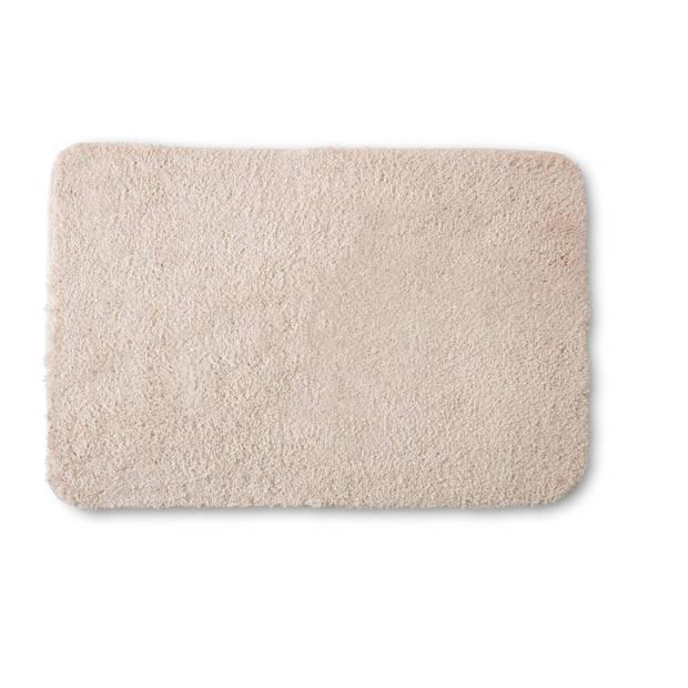 Blokker badmat - crème - 60x90 cm