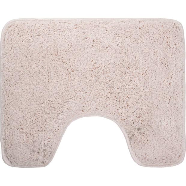 Blokker toiletmat - crème - 60x50 cm