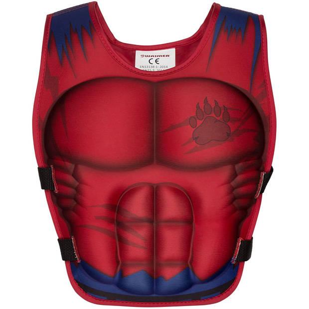 Waimea zwemvest Superheld 3-6 Jaar rood