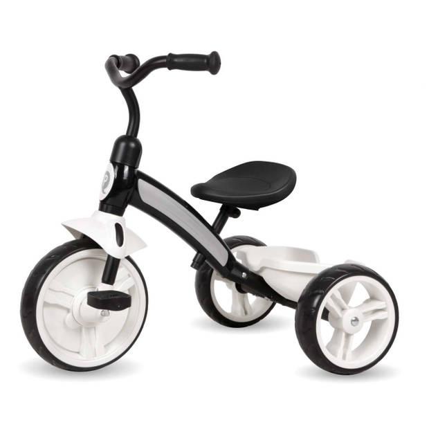 QPlay driewieler Elite Driewieler Kind Junior Zwart