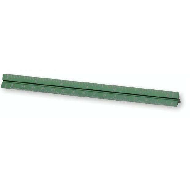 Moses metalen liniaal in vrolijke kleur 17 cm groen