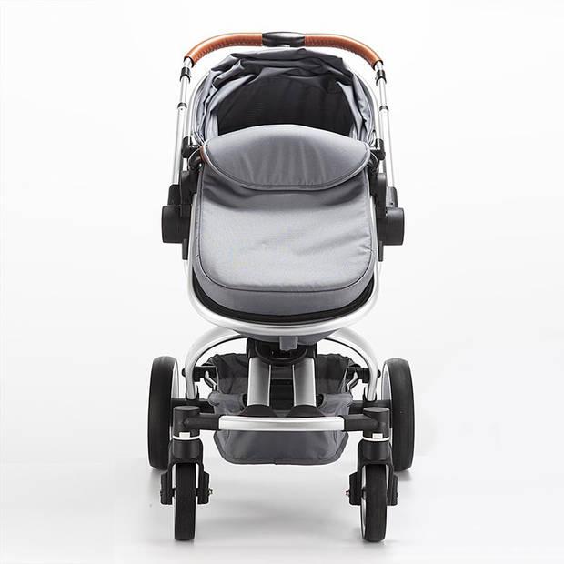 Blij'r Stef 2 in 1 Luxe kinderwagen, 360 graden draaibaar