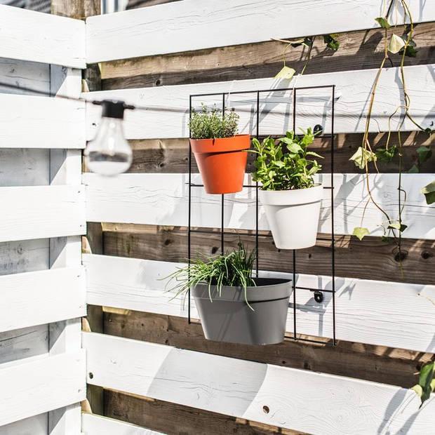 Elho - loft urban green wall rek living black