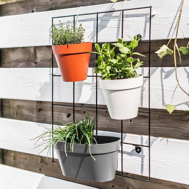 Elho - loft urban green wall single 15cm wit