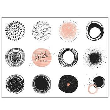 Korting Placemat, Cirkels Kela Picture