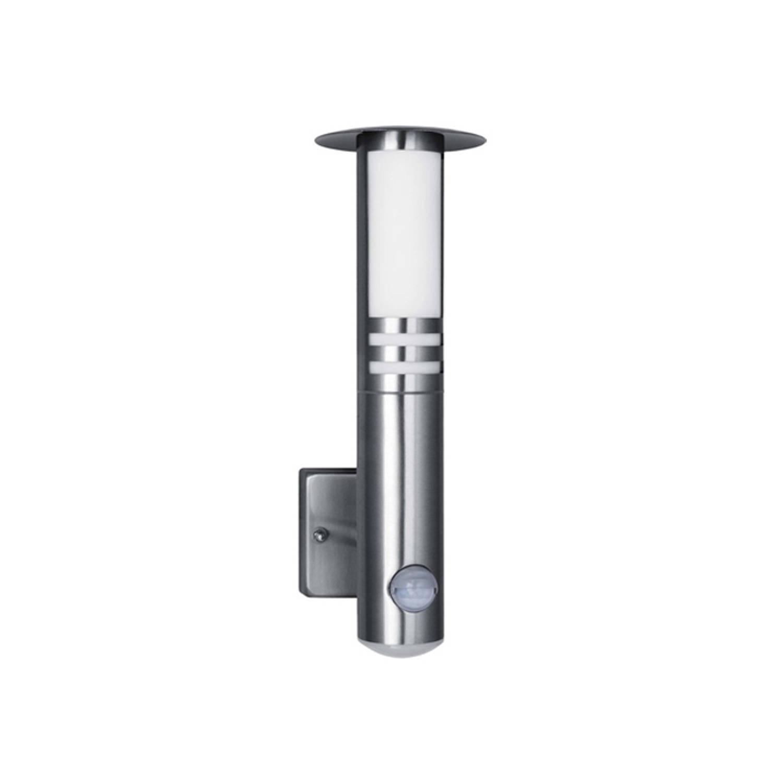 Smartwares Wandlamp Roestvrij Staal Met Bewegings Melder Rvs70led