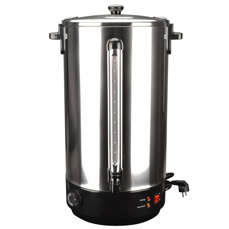 vidaXL Wijnverwarmer 40 L 2500 W roestvrij staal