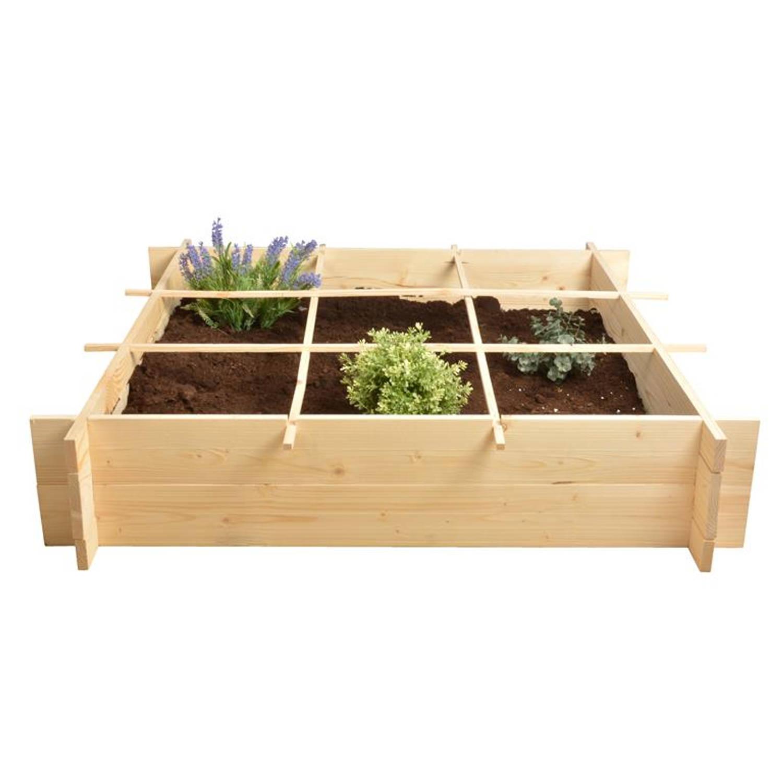 Esschert - Houten vierkante meter tuin