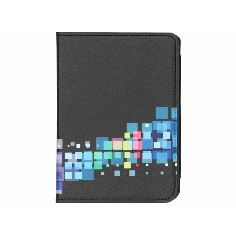 Zwarte-Meerkleurige Deluxe Cover voor de Kobo Clara HD