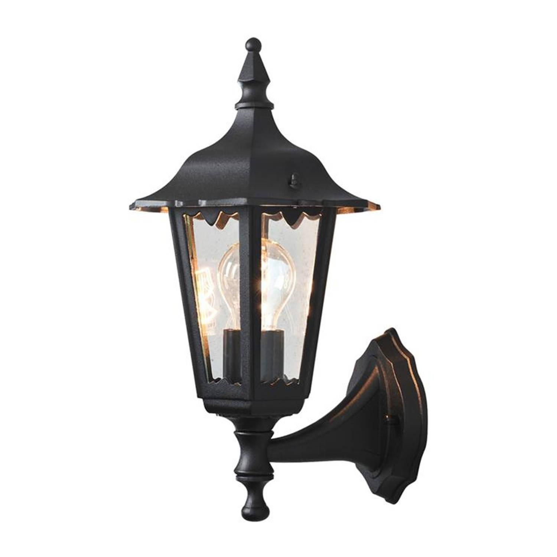 Konstsmide - Buitenlamp Firenze Wand Opw, E27, 60w, Matzwart