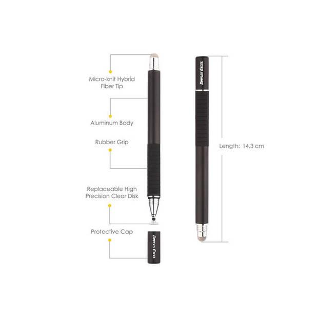 Tablet Precisie Stylus Pen voor Ipad / Tablet / Mobiel - Universeel - Zwart