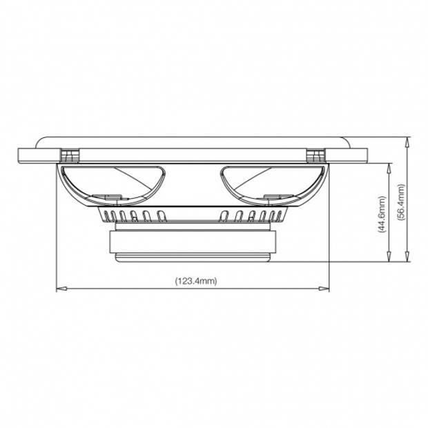 JBL Club 6500C speakerset tweeweg component 6,5'' 180W zwart