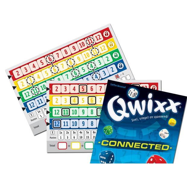 White Goblin Games uitbreidingsset Qwixx Connected