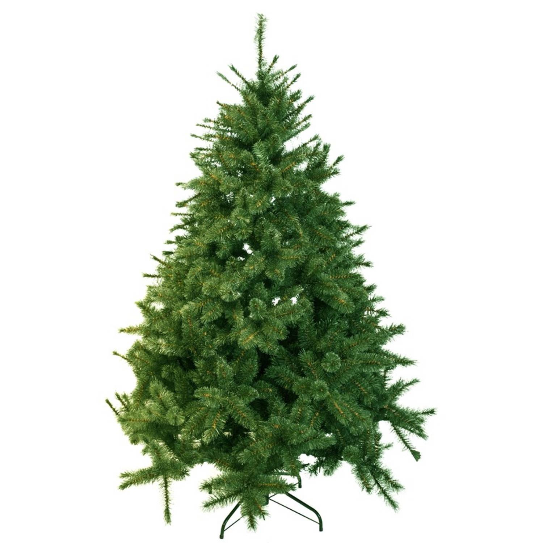 Kunst kerstboom 215 cm dennengroen kunstkerstbomen