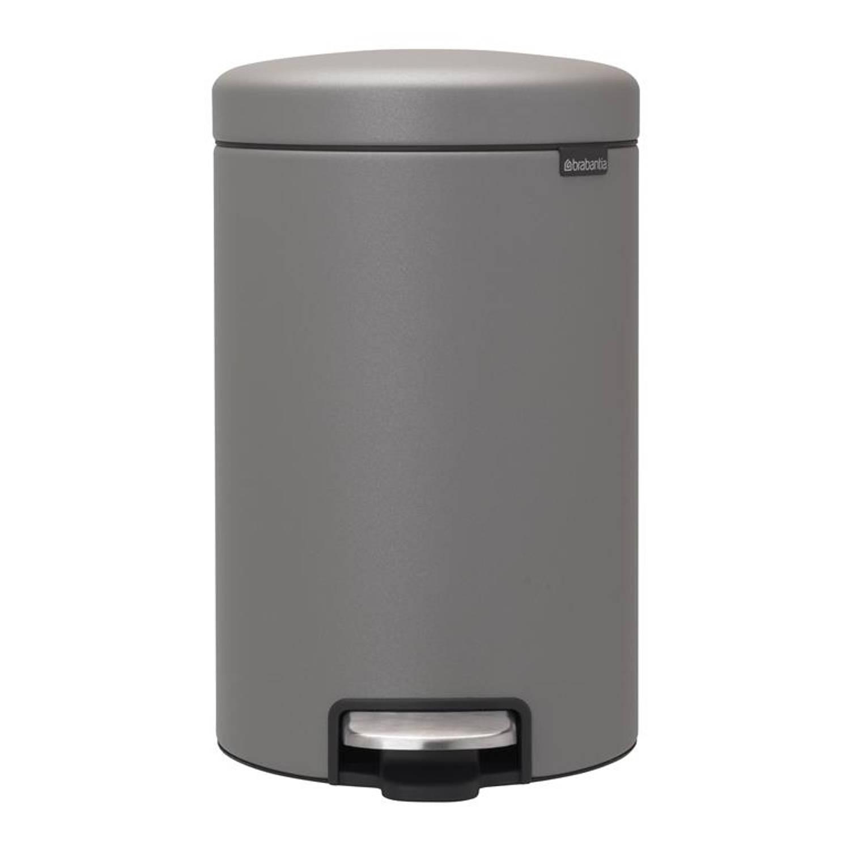 Brabantia - NewIcon Pedaalemmer 12L Mineral Grey