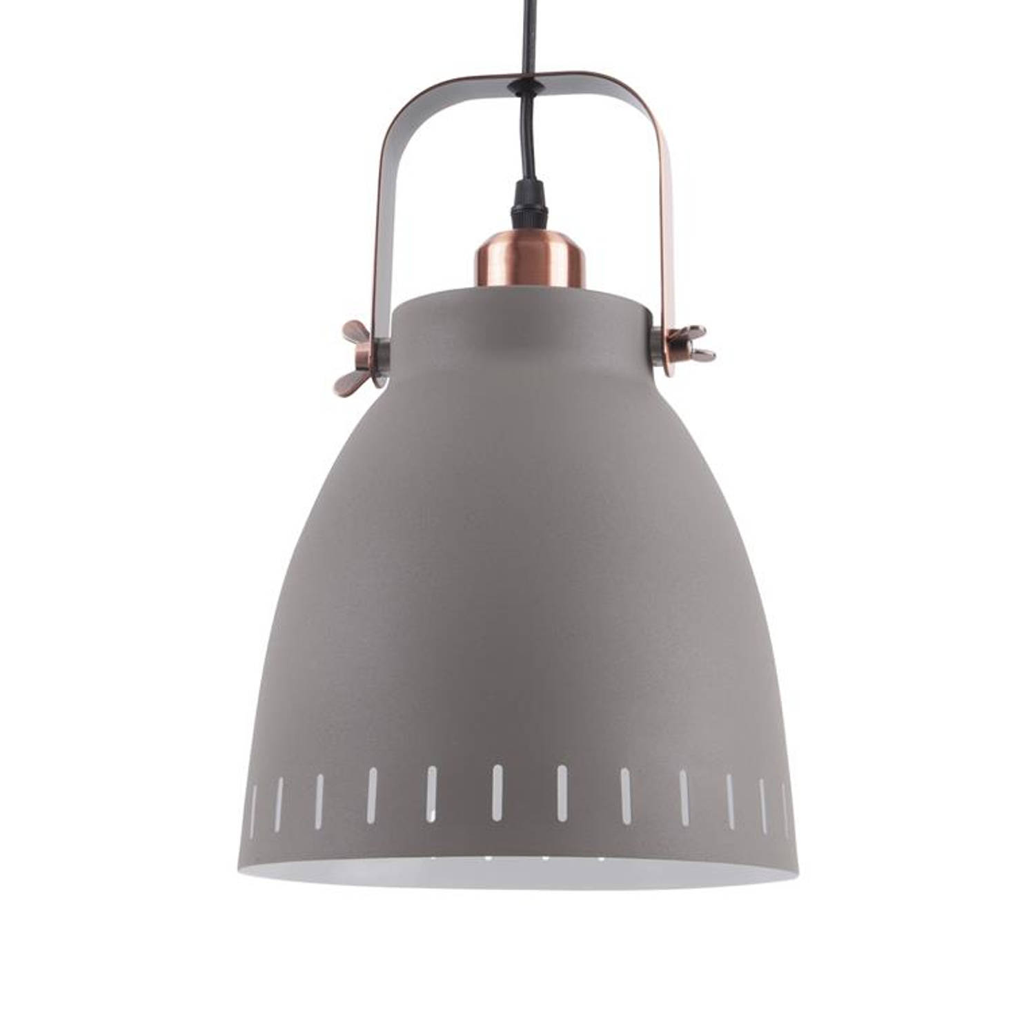 Hanglamp Mingle Grijs Small E27 Leitmotiv