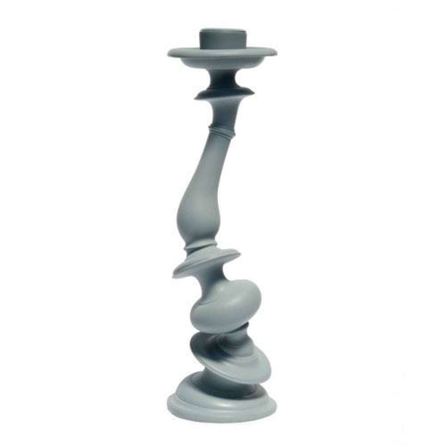Areaware - Distortion Candlestick Grey