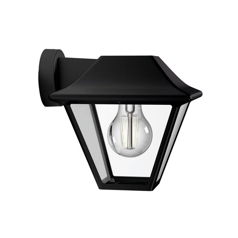 Philips - Alpenglow - Down Wall Lantern - Black