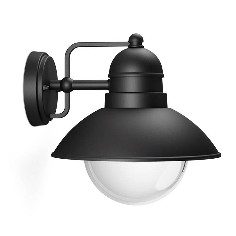 Philips - Hoverfly Wall Lantern Black 1x60w 230v