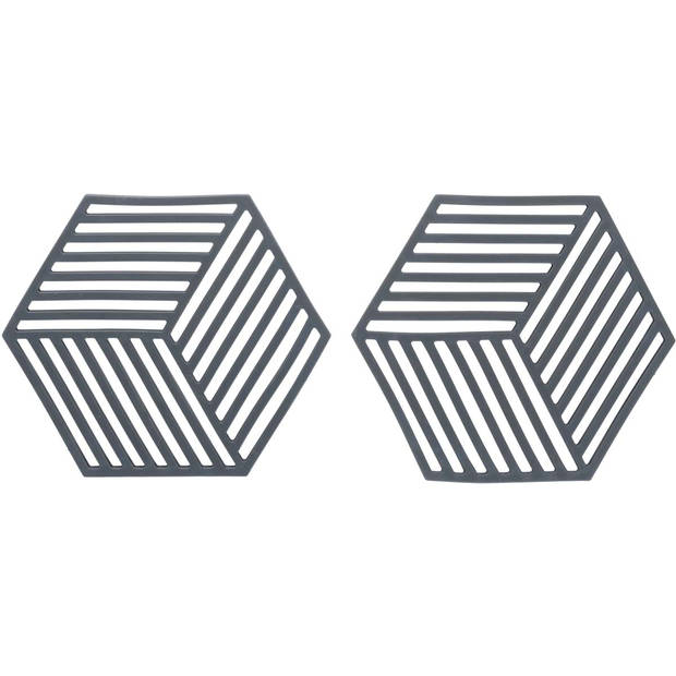Blokker panonderzetter set van 2 - siliconen