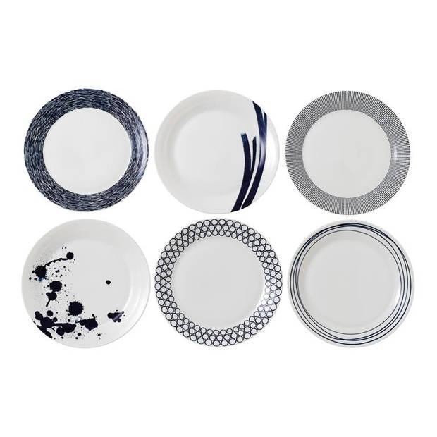Royal Doulton - Pacific Set of 6 Plates 28cm