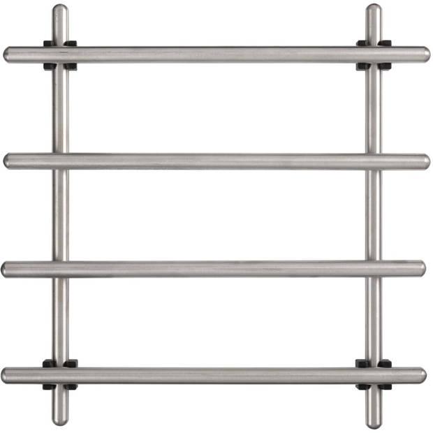 Blokker panonderzetter 18 x 18 cm - RVS