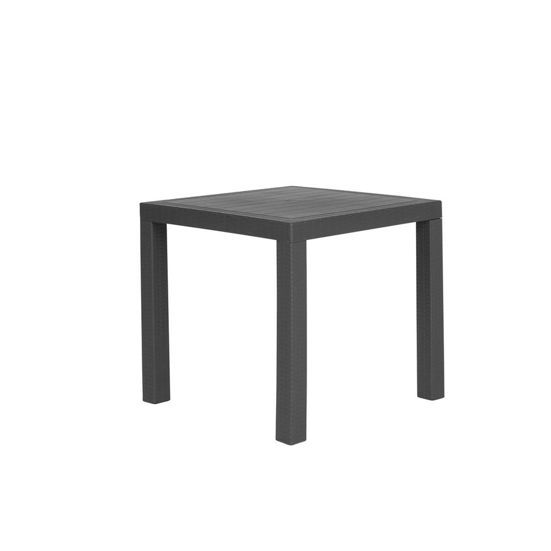 Beliani Fossano - Tuinset-grijs-synthetisch Materiaal