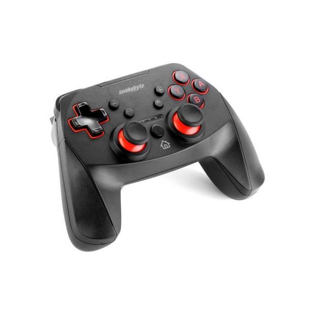 Snakebyte S PRO Zwart Gamepad Nintendo Switch