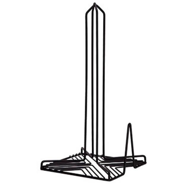 Cosy & Trendy Keukenrolhouder - zwart - 31,5 cm