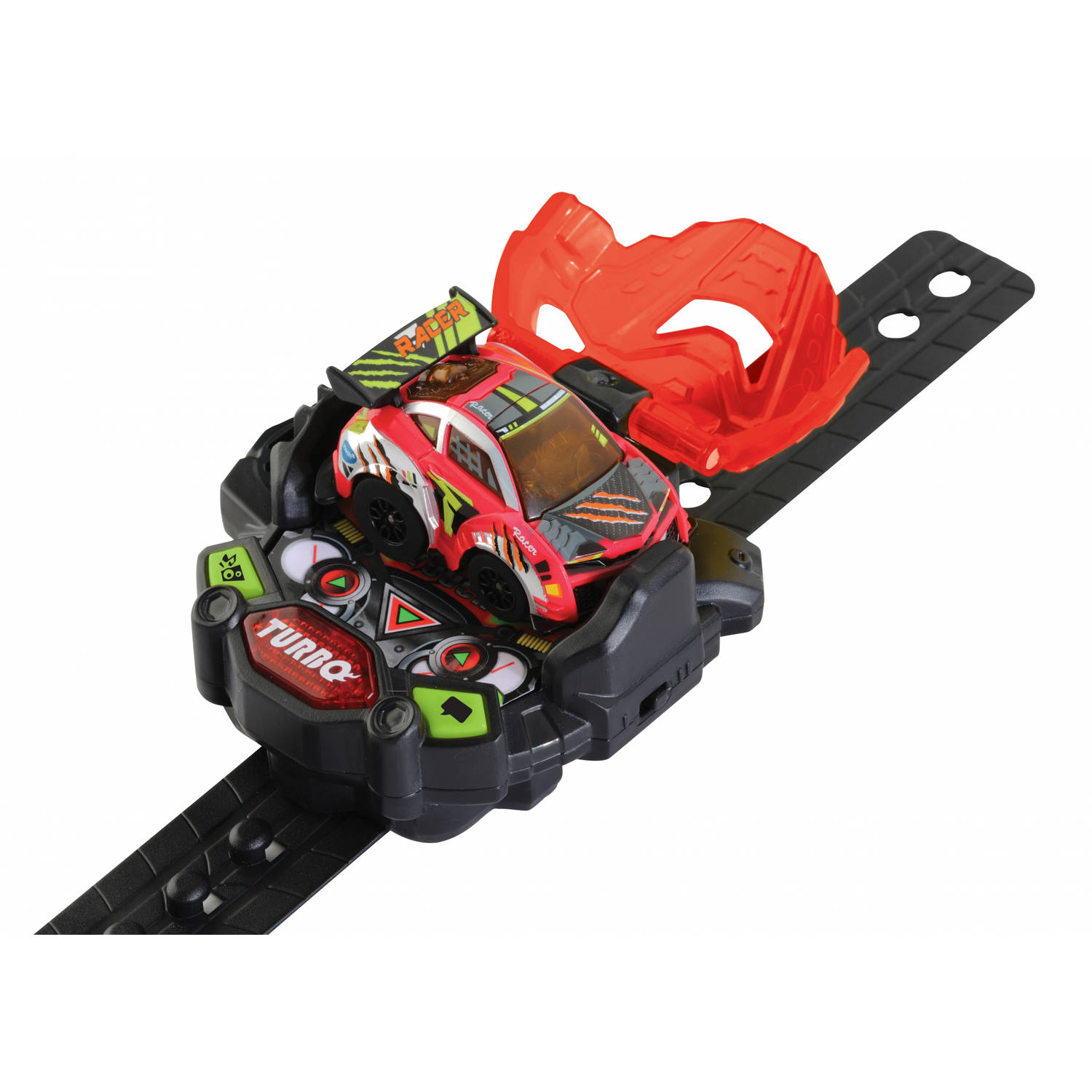 Vtech Turbo Force Racers - Red Racer Voertuig Rood