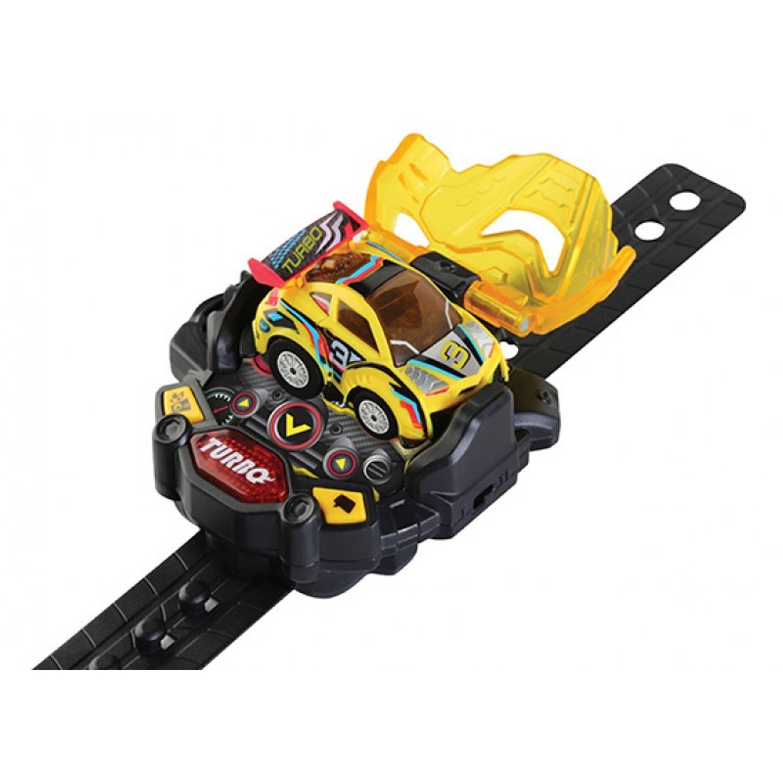 Vtech Turbo Force Racers - Yellow Racer Voertuig Geel