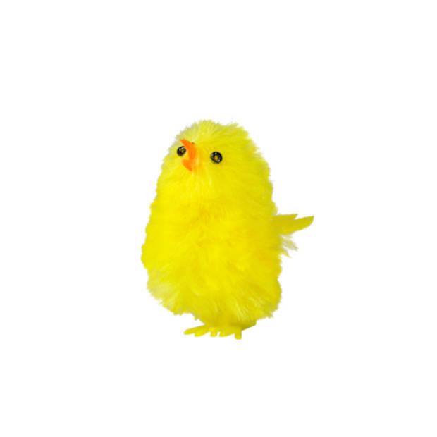 6 Gele Kuikentjes 6 cm