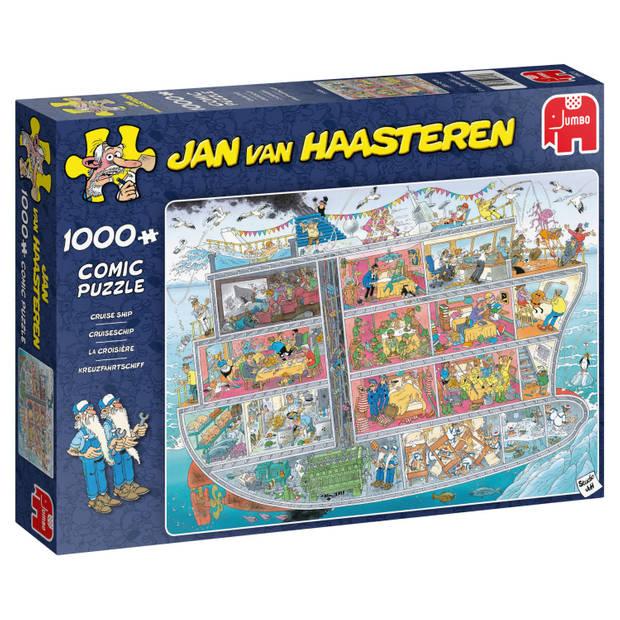 Jan van Haasteren puzzel cruiseschip - 1000 stukjes