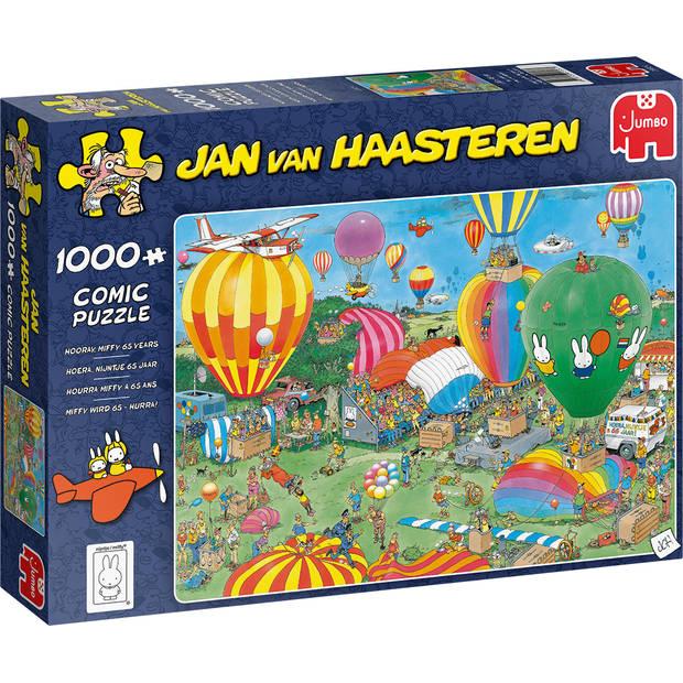Jan van Haasteren hoera, Nijntje 65 jaar - 1000 stukjes