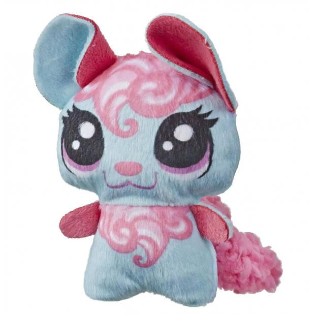 Hasbro knuffel Littlest Pet Shop blauw 8 cm (E3680)