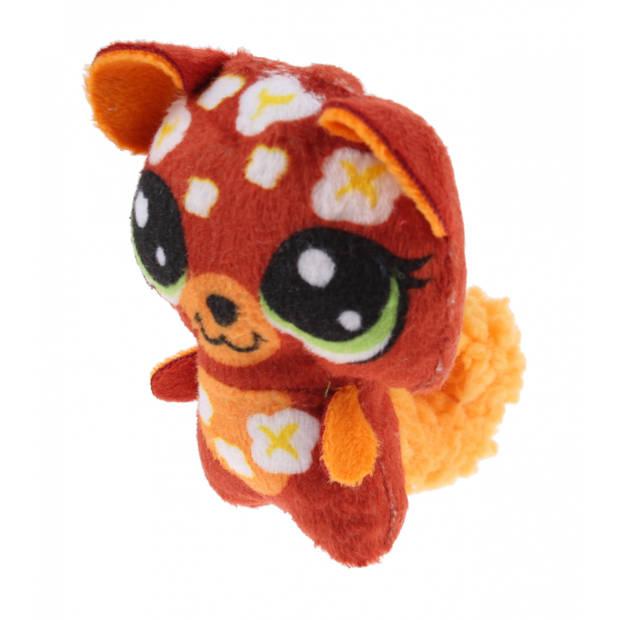 Hasbro knuffel Littlest Pet Shop bruin 8 cm (E5909)