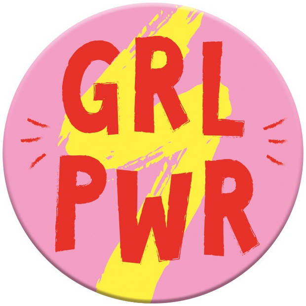 Moses magneet Girl Power 5,5 cm rond