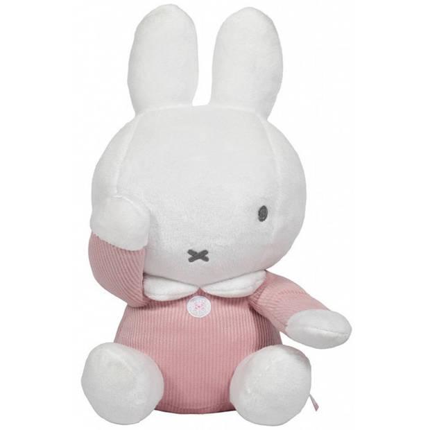 Nijntje knuffel kiekeboe wit/roze