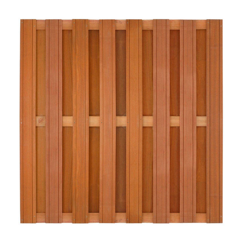 Intergard Schutting tuinscherm hardhout 180x180cm