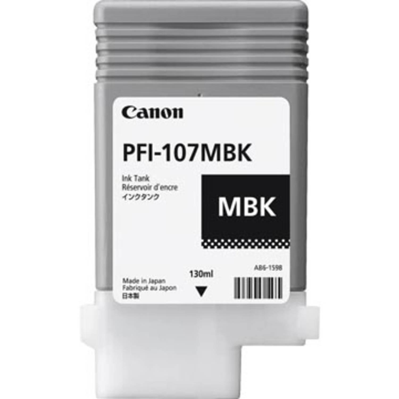 Canon Inktcartridge Pfi-107 Matzwart, 130 Ml - Oem: 6704b001