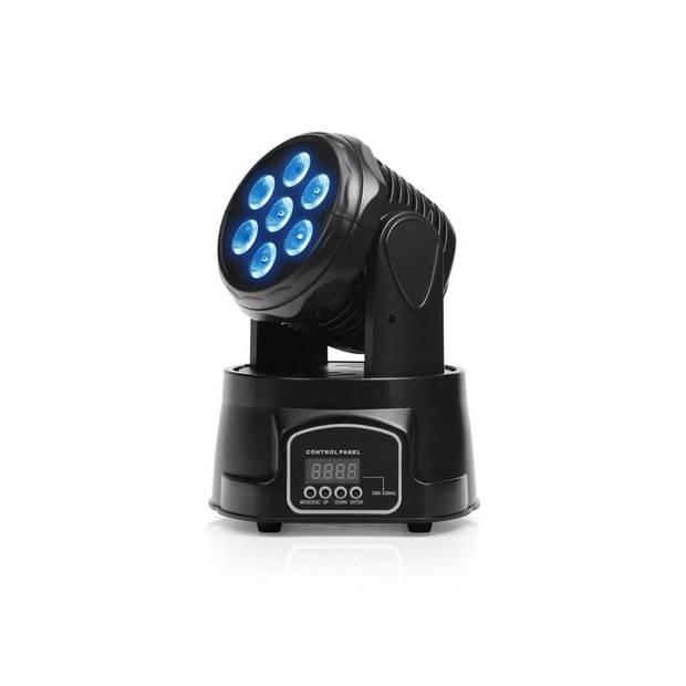 Mini LED - Movingheader Discolamp - 10W led x7