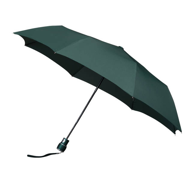 Impliva paraplu miniMAX automaat 100 cm donkergroen