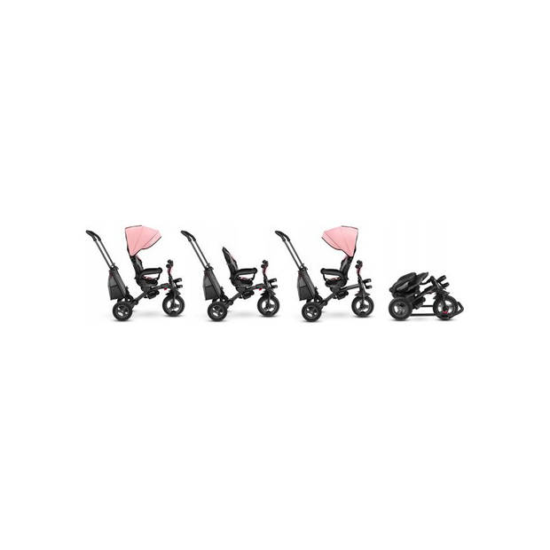 Lionelo Tris - 2 in1 driewieler - Roze