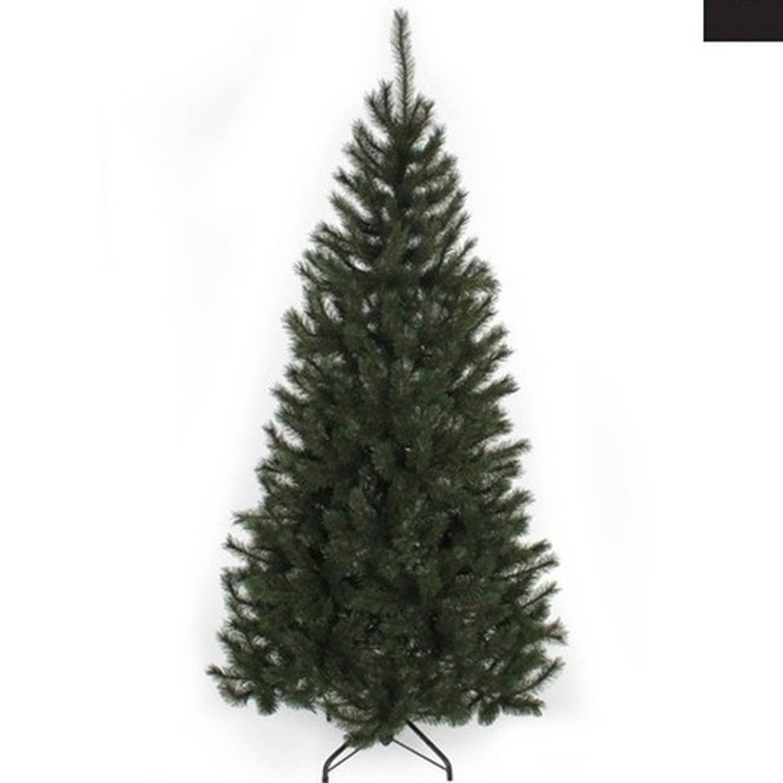 Kunst kerstboom Kingston Black Box 767 tips groen 215 cm