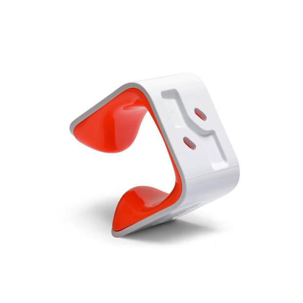 Clug MTB Fiets Clip voor de muur - Wit/oranje